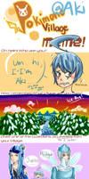Pokimono Intro Meme- AKI VER. by Rutau