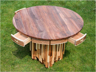 kitchen table by RushInBrain
