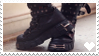 Gothic Boots - Stamp by Creepper-Blue