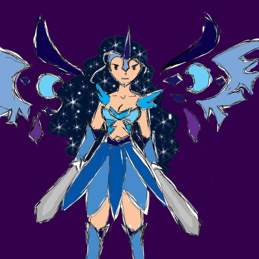 Nightmare Moon - Human form! by CreativeThinker108 on DeviantArt