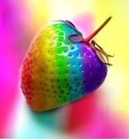 Phsychadelic Strawberry by lovelife99