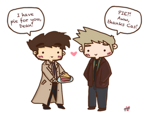 Pie for Dean [Pie is Sweet] by pyohappy