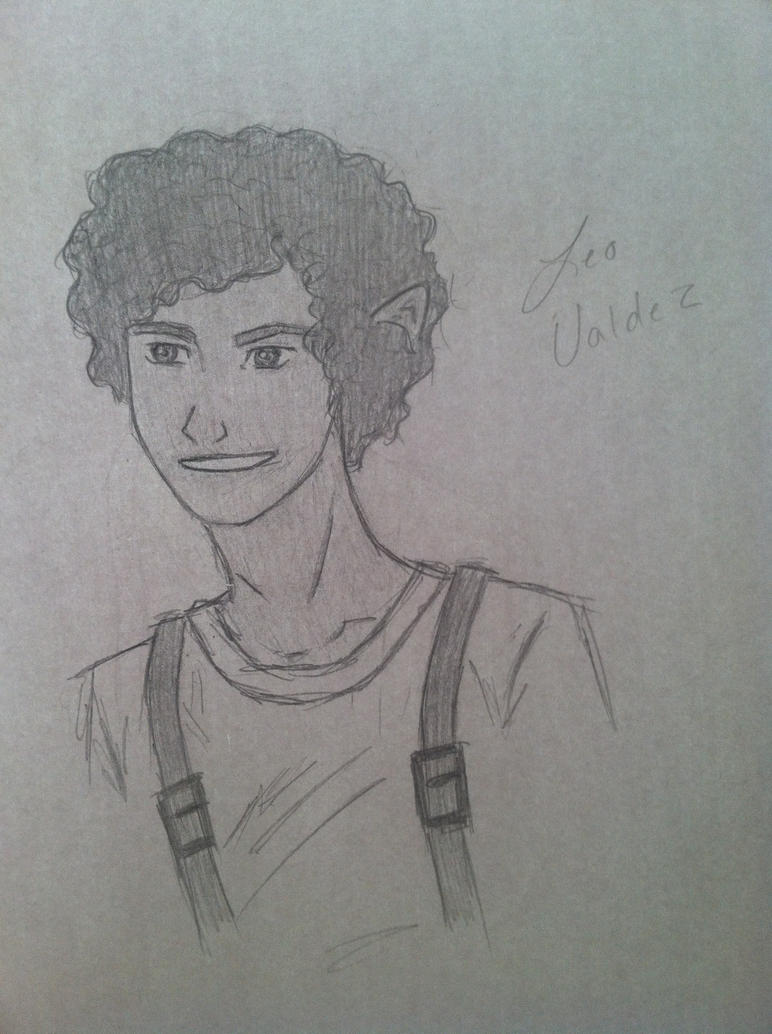 Leo Valdez, The Lost Hero by MysteriousIdentities