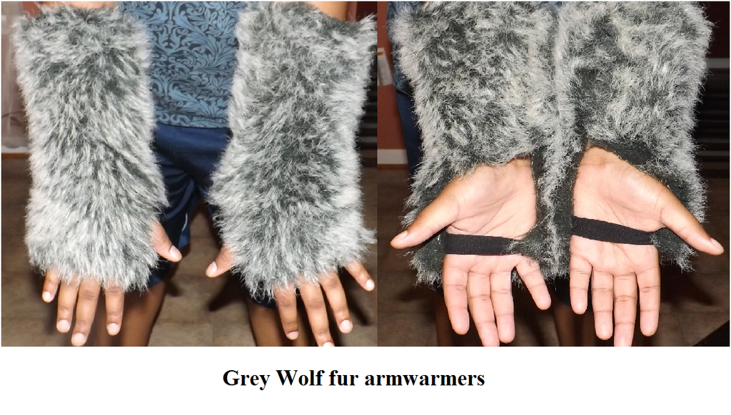 grey wolf armwarmers : FOR SELL : by KcK-pain on DeviantArt