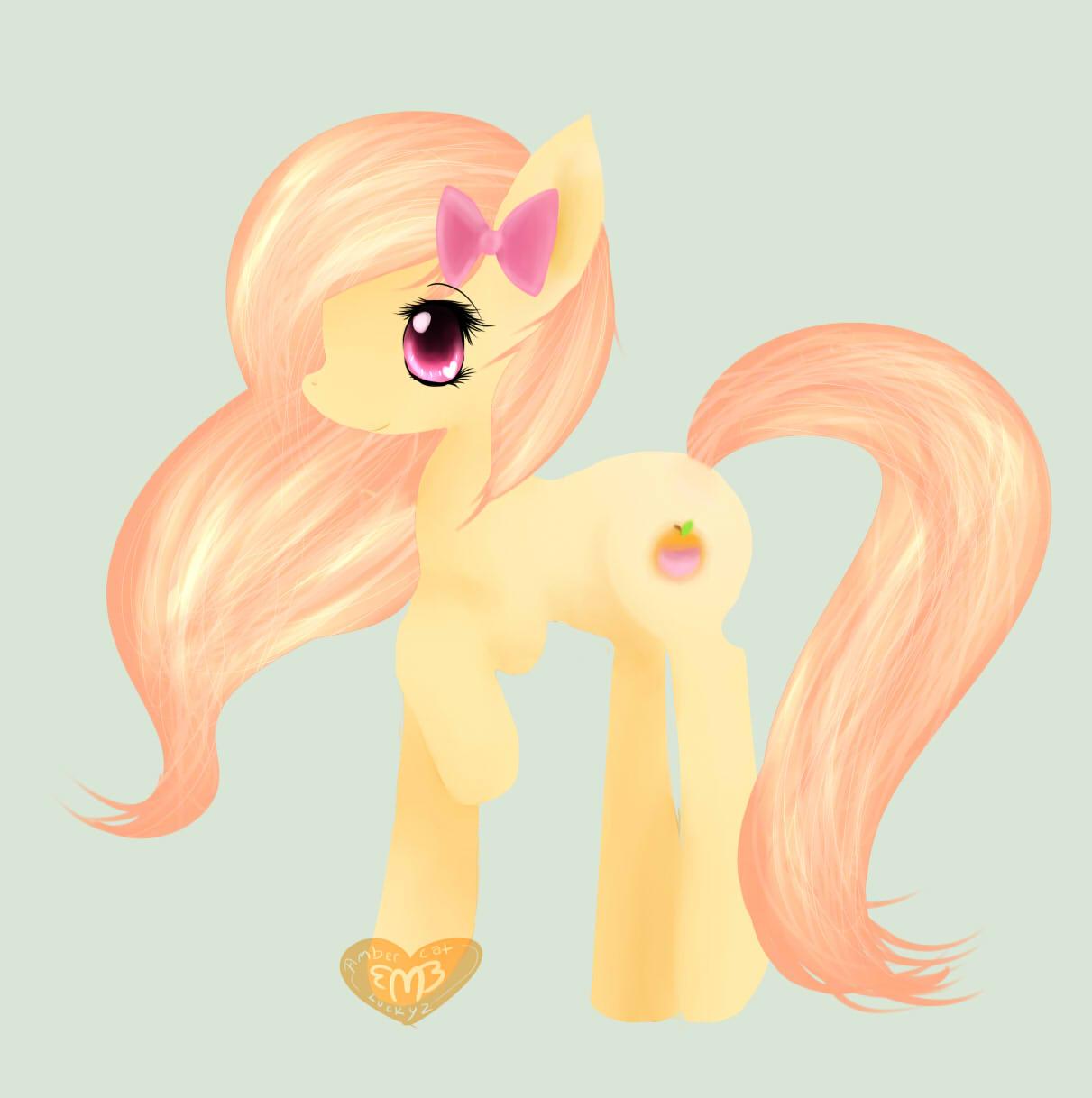 Pretty Peach by Ambercatlucky2