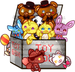 Five Nights At Freddy's 2 by Ambercatlucky2