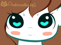 Marely Cute Face by Ambercatlucky2