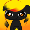 Scorching Torch Grumpy Face Icon by Ambercatlucky2