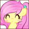 Lotus Blossom ^ v ^ emote face by Ambercatlucky2