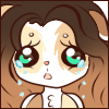 Ontra Crying Face Emote by Ambercatlucky2