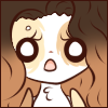 Ontra Scared and Shocked Face Emote by Ambercatlucky2