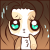 Ontra Worried Face Emote by Ambercatlucky2