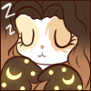 Ontra Sleeping Face Emote by Ambercatlucky2