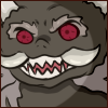 Naraku monster form scary creepy face Face Emote by Ambercatlucky2