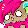 ShastaDragon Shock Face Face Emote by Ambercatlucky2