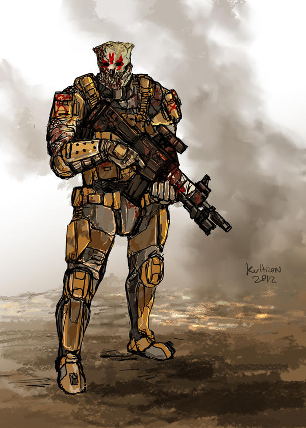 Infested Trooper by Kvlticon