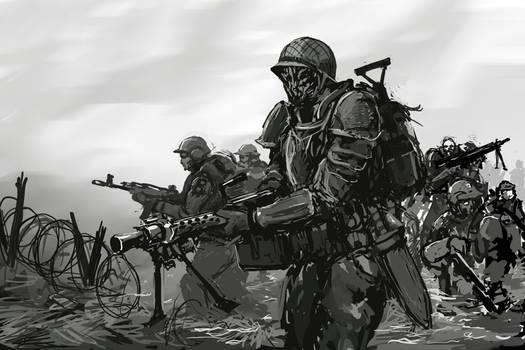 Downfall - Harbinger 1 sketch