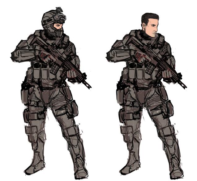 Hector - sketches by Kvlticon