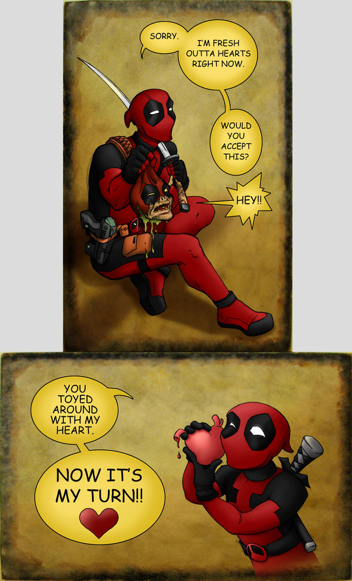 Fesselnd Deadpoolu0027s Valentine By Hybridflowers ...