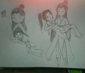 Lan Zhan and Wei Ying