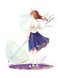[facebook event] school girl by tachibanaan