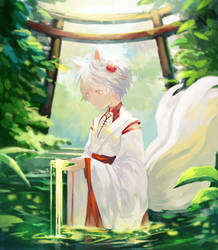 Shrine by tachibanaan
