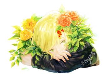 flower by tachibanaan