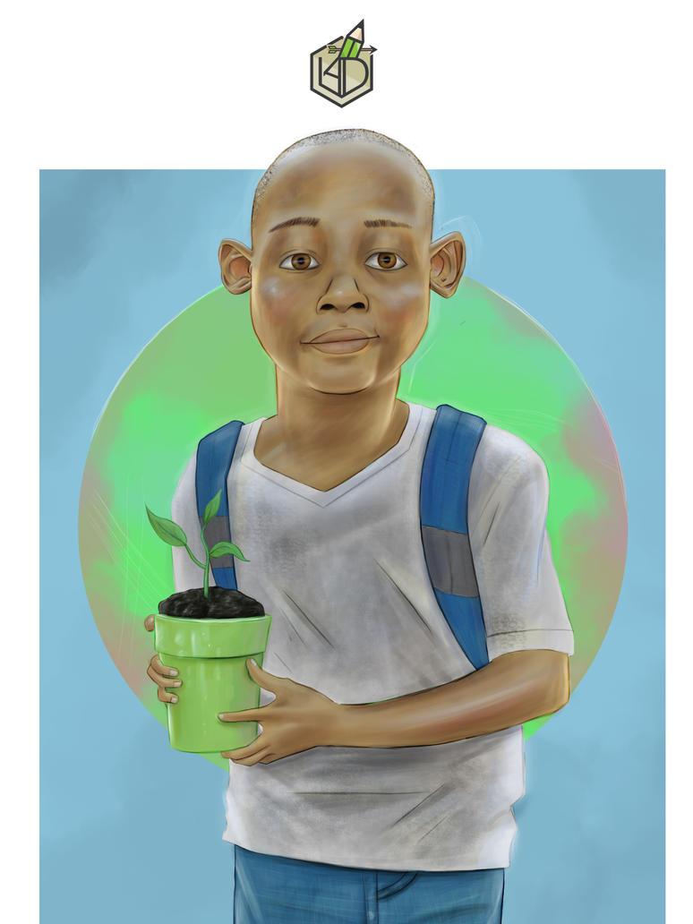 environment child by leonardo1arts