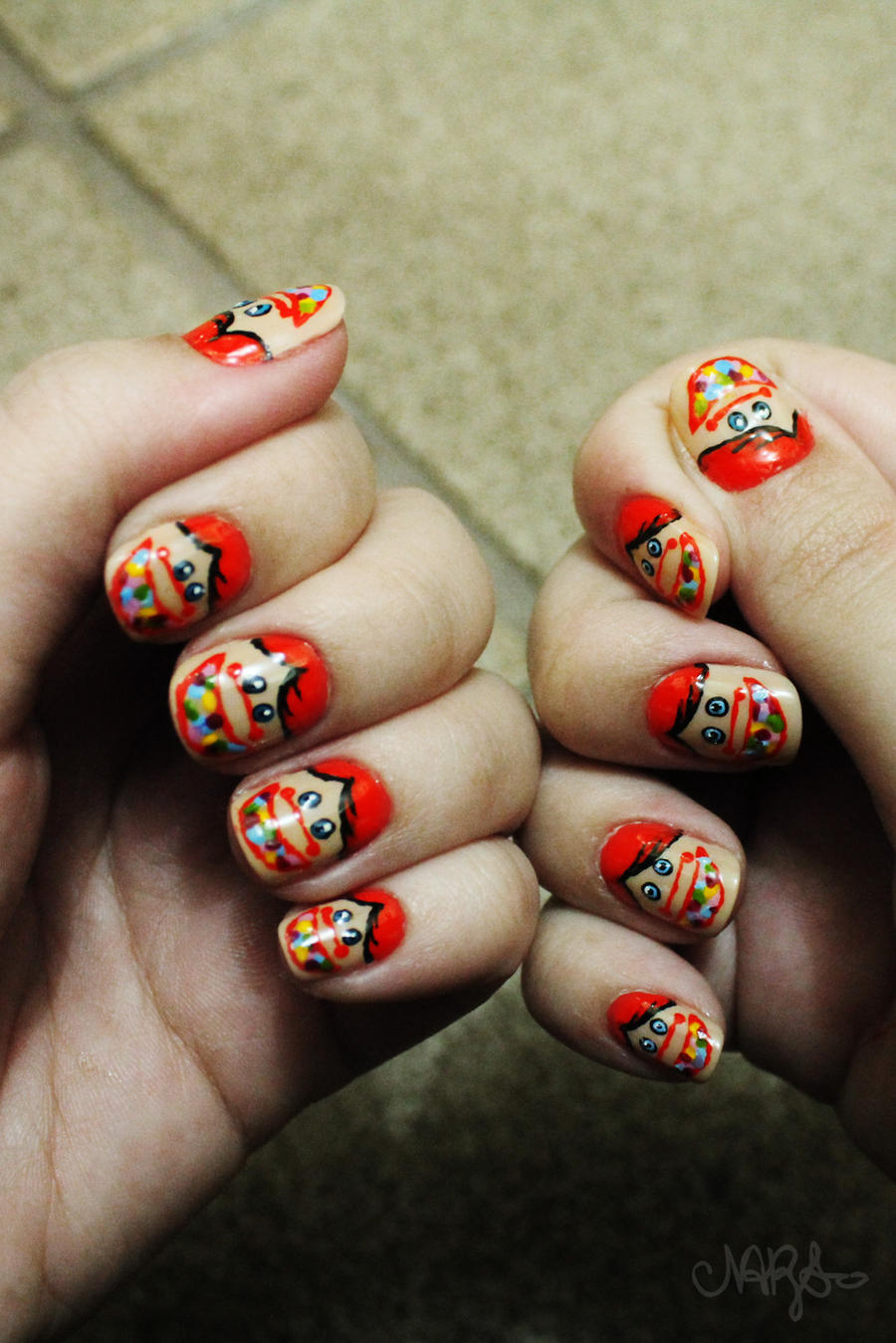 Chiclets mini nail art by natsy alencar on deviantart chiclets mini nail art by natsy alencar prinsesfo Images