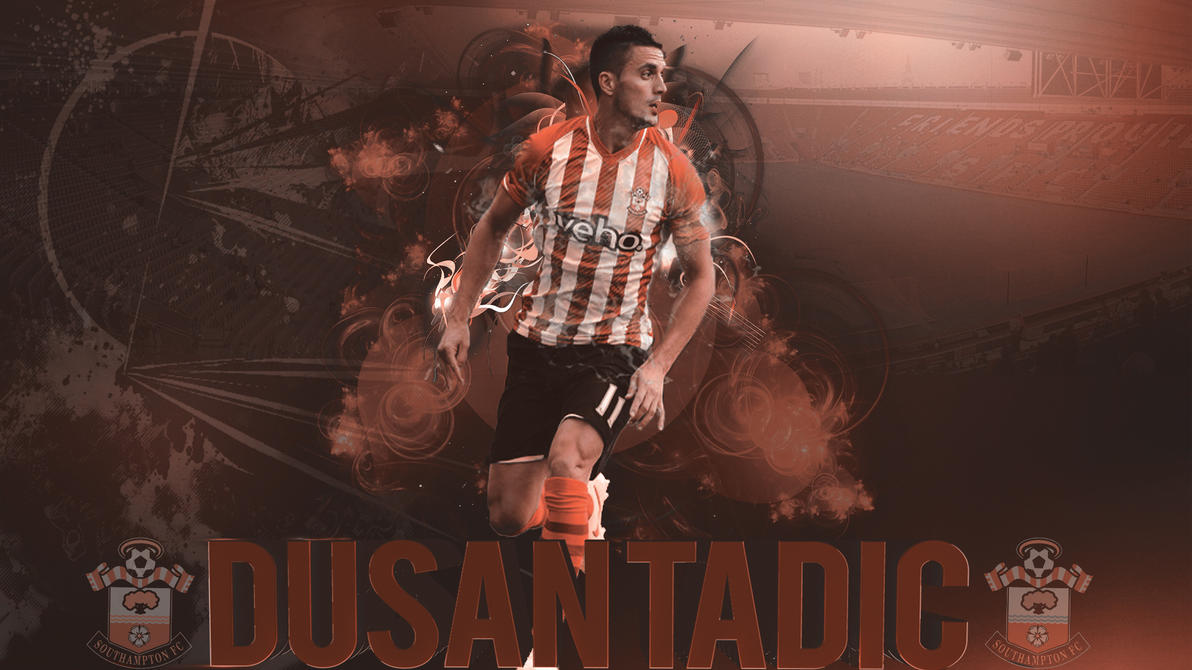 Dusan Tadic Wallpaper: Dusan Tadic GFX By RelXT On DeviantArt