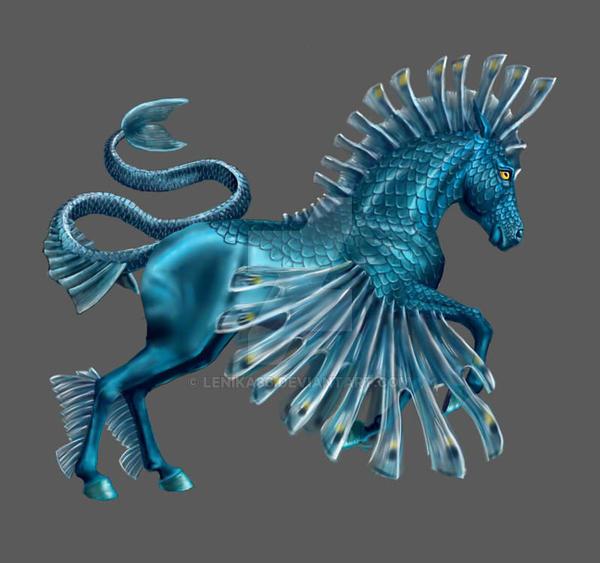 Horse Sea Dragon By Lenika86 On Deviantart