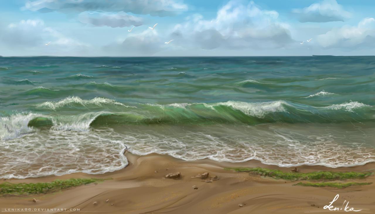 Black sea by Lenika86