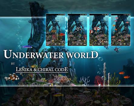 Underwater world Live wallpaper