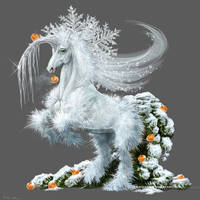 Silver bells of winter by Lenika86