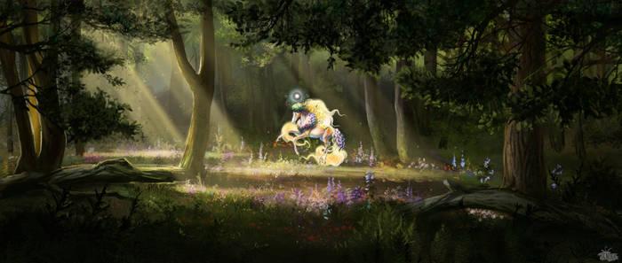 Vana's Sunny Meadow by Lenika86
