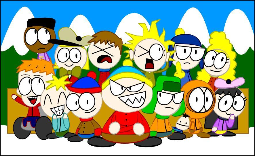 South Park Fanart Again by Guuguuguu