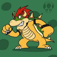 Super Smash Bros 001-Bowser by Guuguuguu