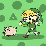 Super Smash Bros 016-Toon-Link