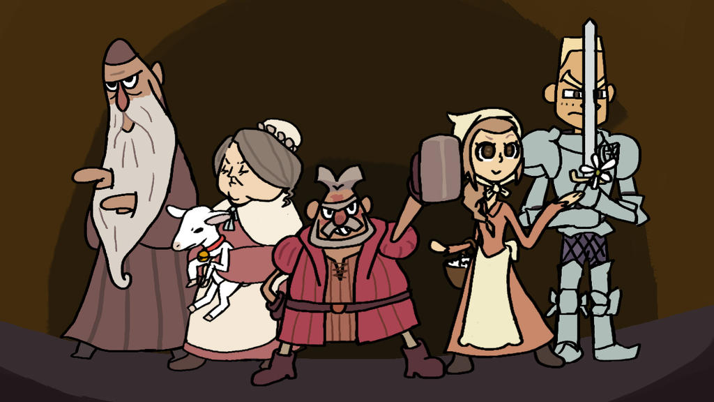 PL vs AA: The witnesses of the Firts Witch Trial by Guuguuguu