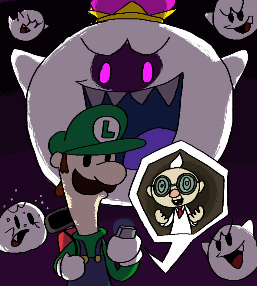 Luigi's Mansion - The King is Watching by Guuguuguu