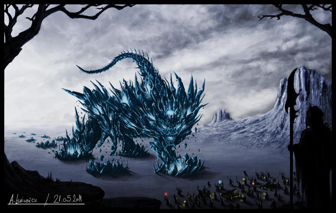 Reagnass, Ice Colossus by SkavenZverov