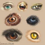 Eye Training - Day 3 by SkavenZverov