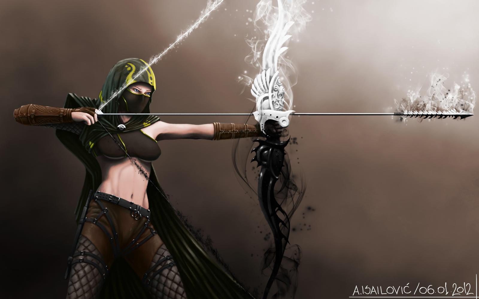 Human Ranger Gw2 Fan Art by