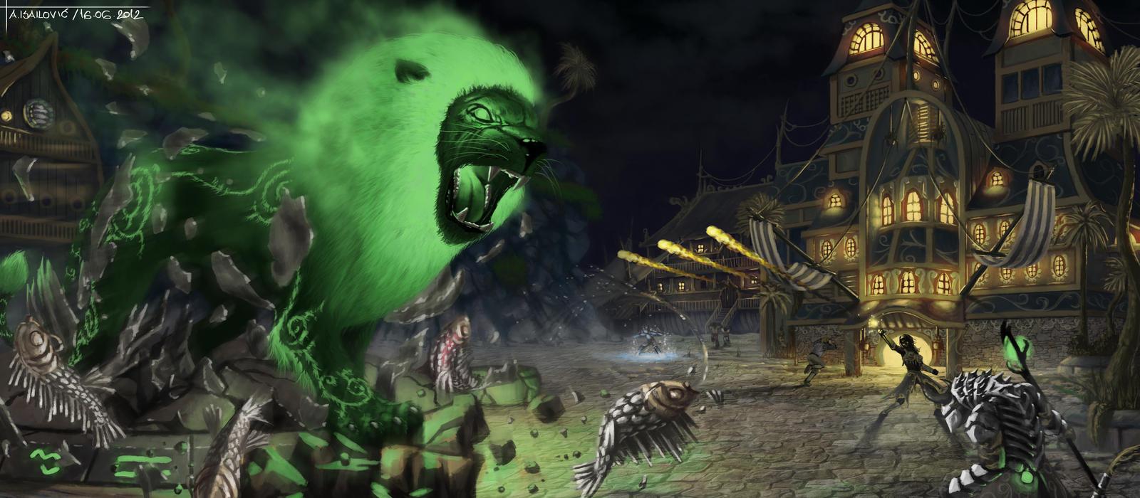Welcome to Lion's Arch - Guild Wars 2 Fan Art by SkavenZverov on ...