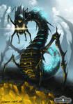 Draerim Crawler - Le Dernier Bastion concept art