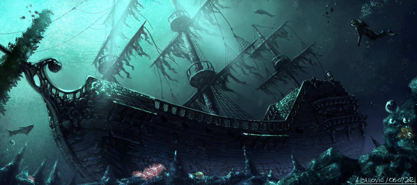 Into The Deep by SkavenZverov
