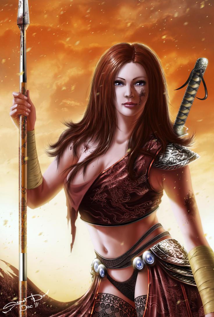 Sira Lionfire by SkavenZverov