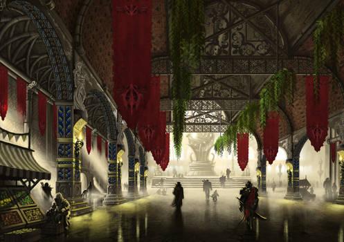 The Great Hall - Le Dernier Bastion