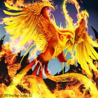 Fiery Phoenix - Keepers of Grimoire by SkavenZverov