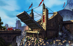 Perspective Training - City Entrance by SkavenZverov